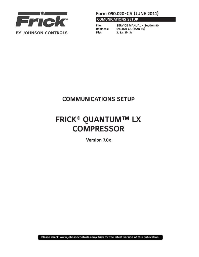 frick quantum lx compressor manualzz com rh manualzz com