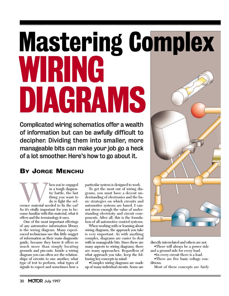Complex Wiring Schematics | Wiring Liry on