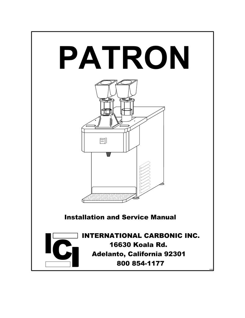 patron manual - sentry bevcon