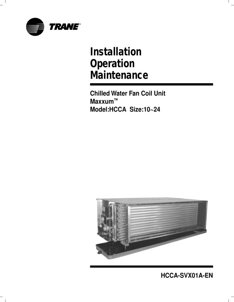 Installation Operation Maintenance | manualzz.com on