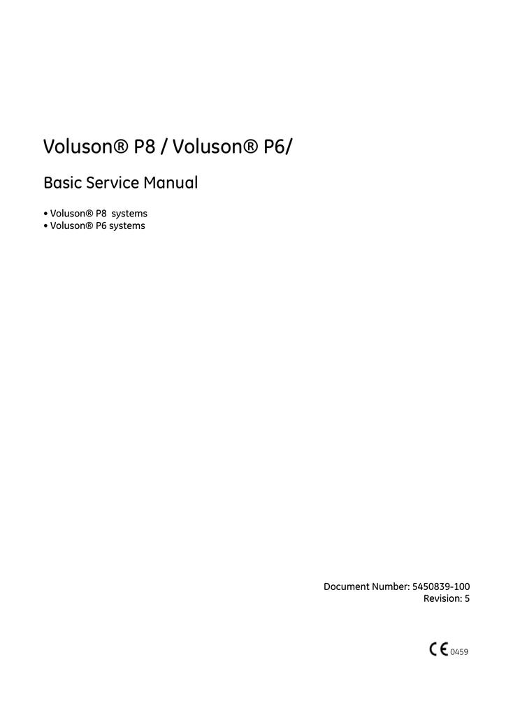 voluson� p8 voluson� p6 manualzz com Dell Power Supply