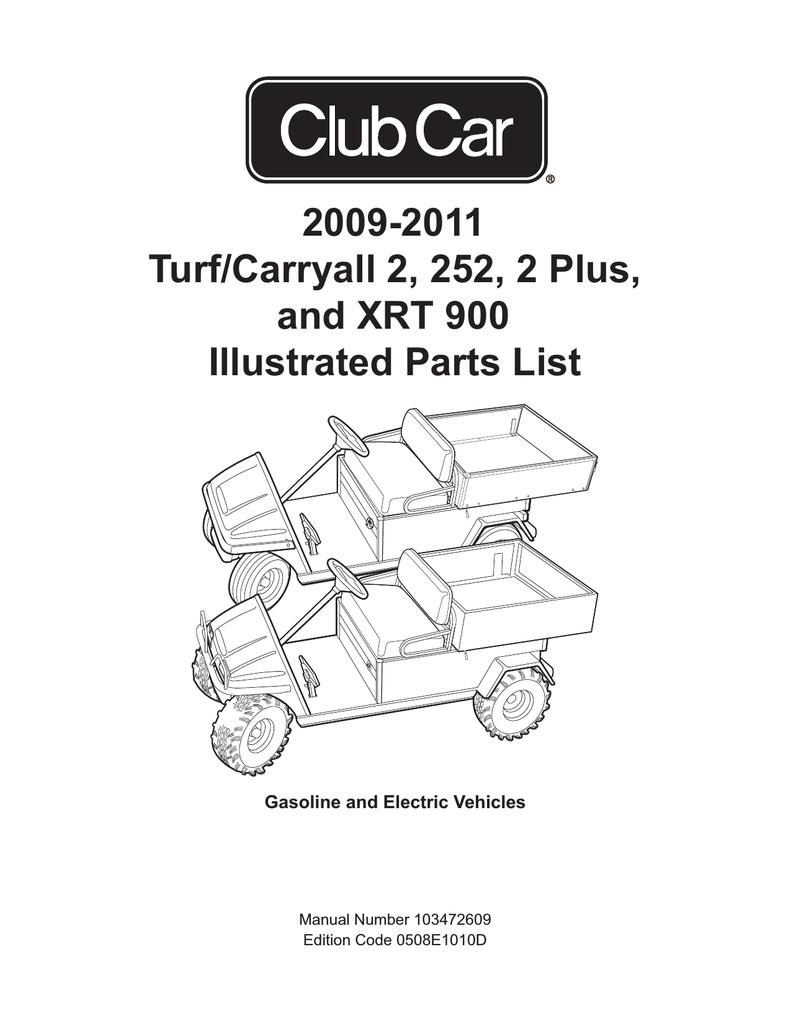 Club Car Turf Carry All 2 Wiring Diagram