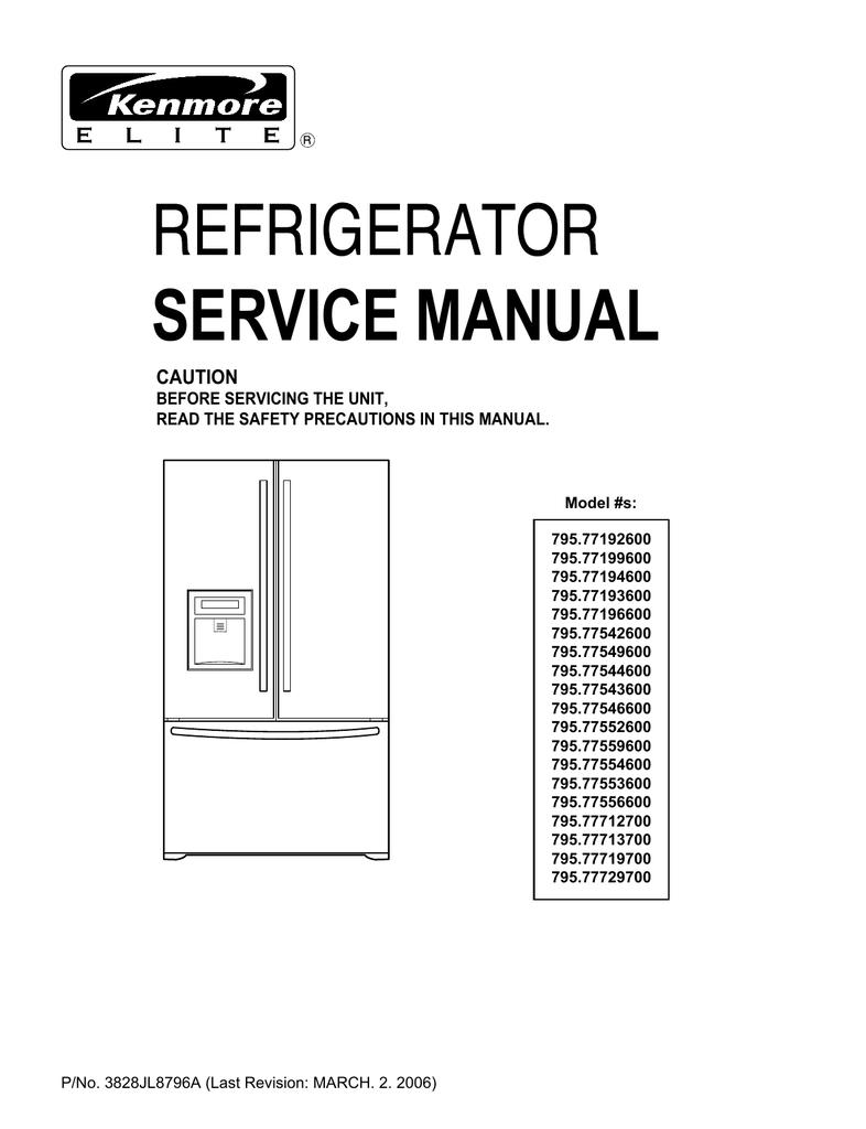 Service Manual - Appliance Factory Parts | manualzz.com on