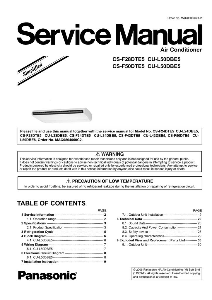 Order No Mac0608038c2 Manualzz