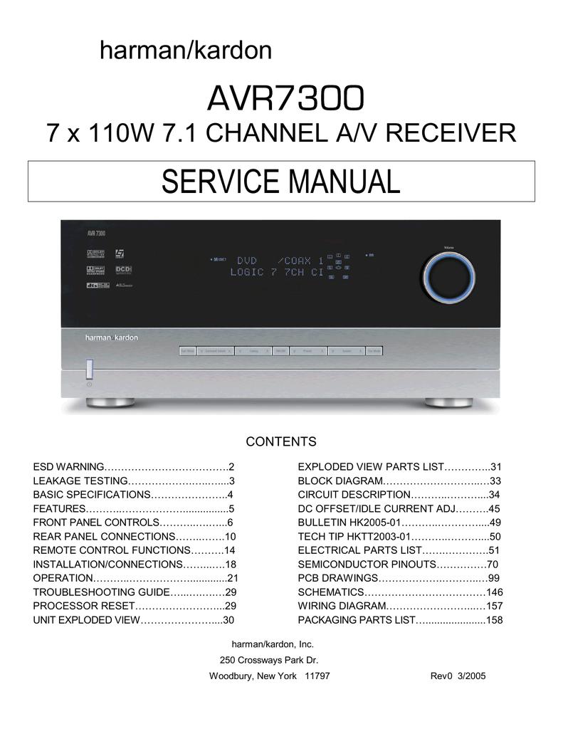 Harman Kardon Quality Performance Simple Remote Control Tester Diagram Circuit