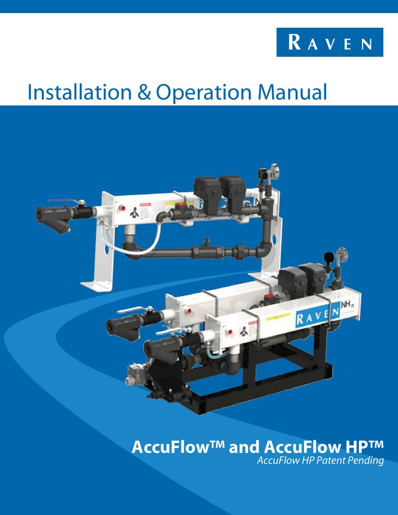 Installation & Operation Manual | manualzz.com on