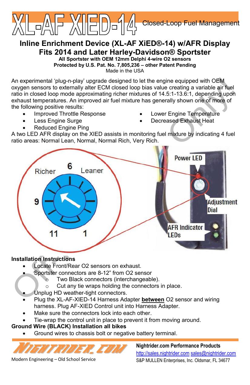 Inline Enrichment Device (XL-AF XiED®-14) w/AFR   manualzz.com on