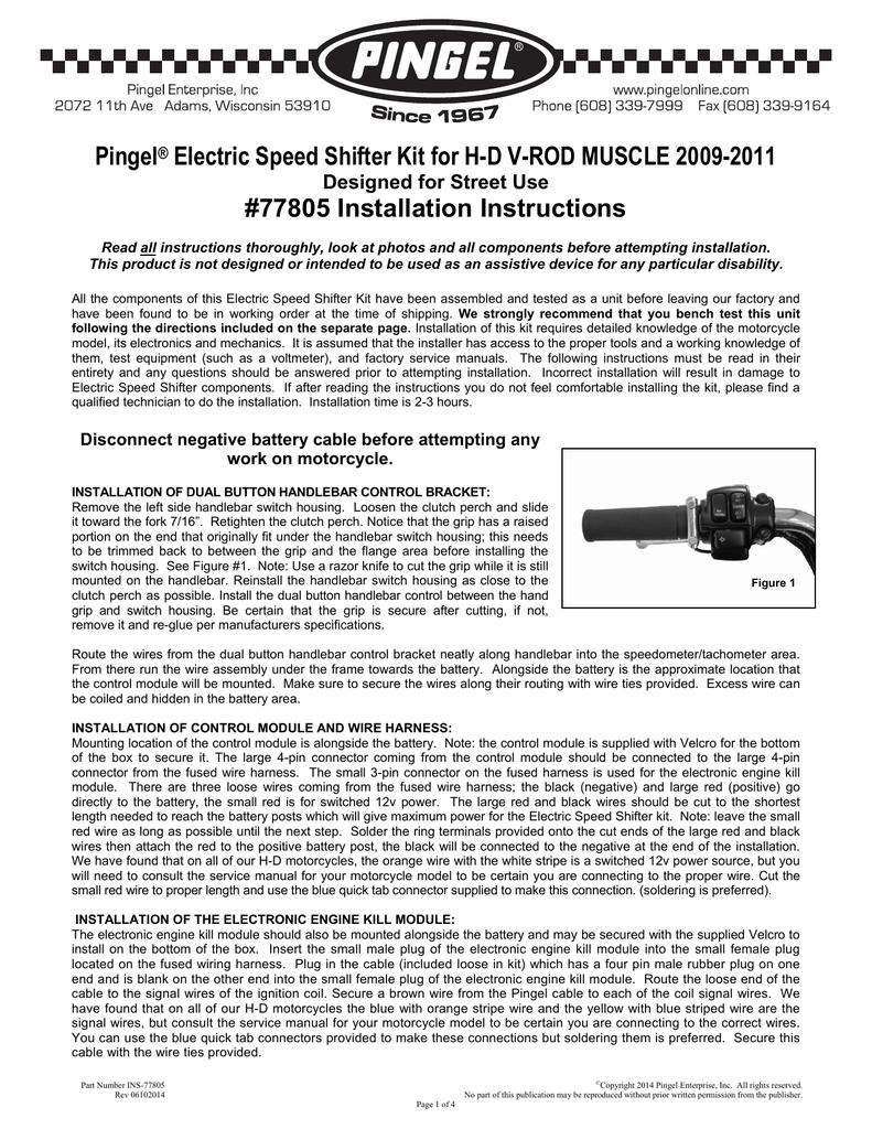 Pingel® Electric Sd Shifter Kit for H-D V | manualzz.com on pingel shifter install, pingel air shifter, air shifter diagram,