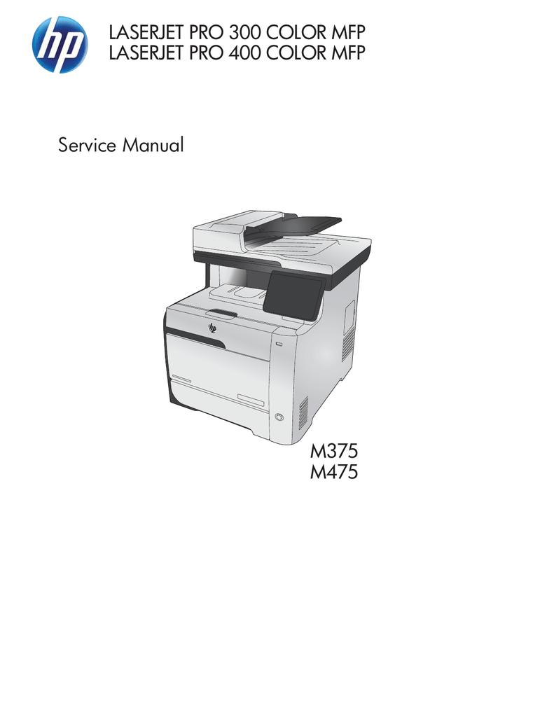 Hp Laserjet Pro 300 400 Color Mfp Service Manual Manualzz