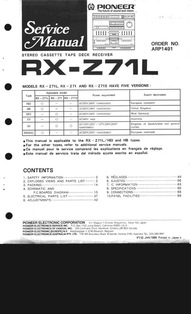 Pioneer FRA-124 Flywheel Assembly