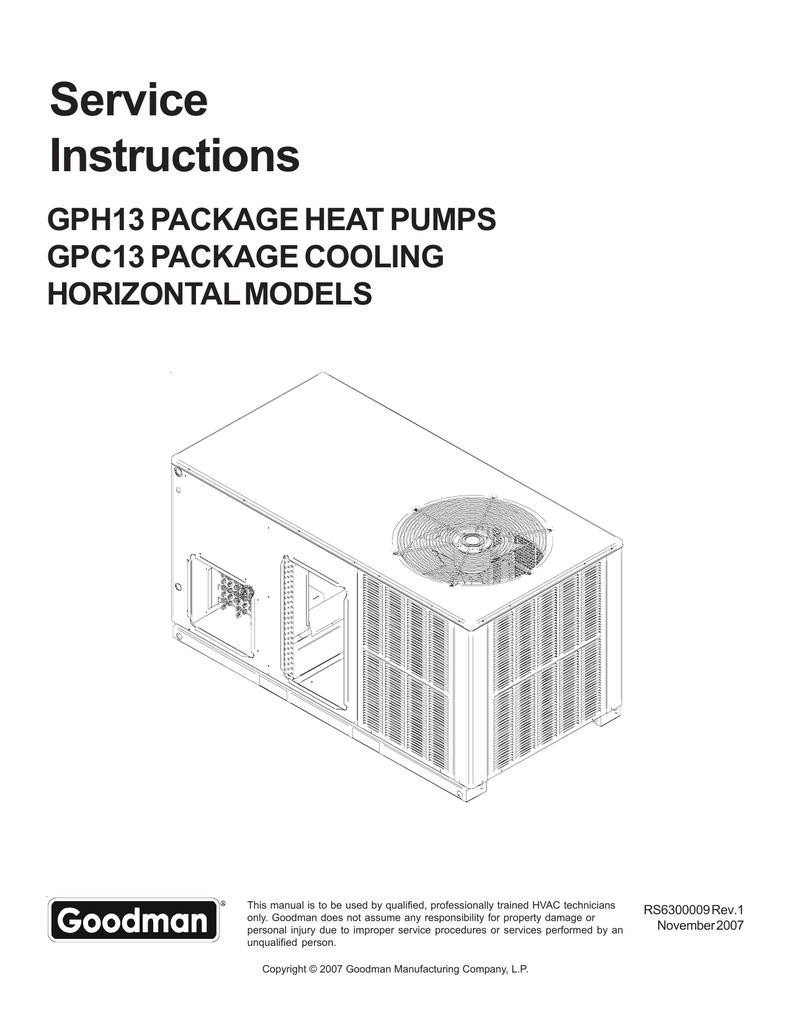 hkr 10c goodman wiring diagram goodman thermostat wiring