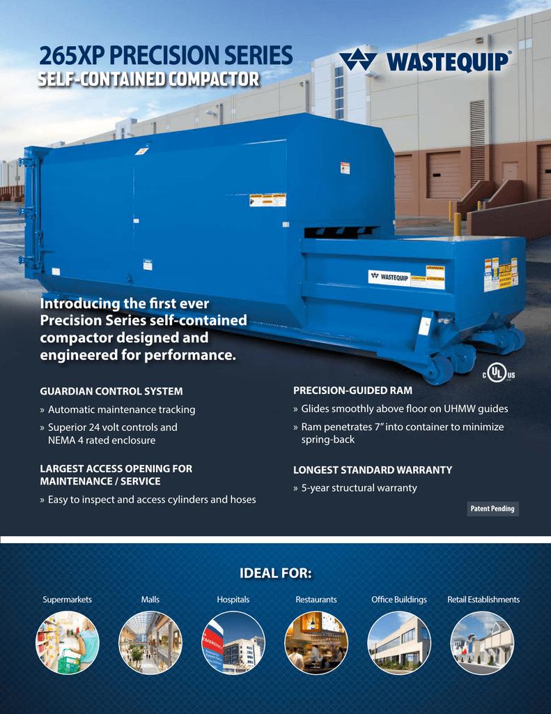 265XP™ Precision Series Compactor Brochure | manualzz.com on