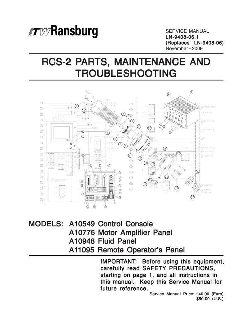 Ln 9408 061 Rcs 2 Parts Maint Actuator Wiring Diagram