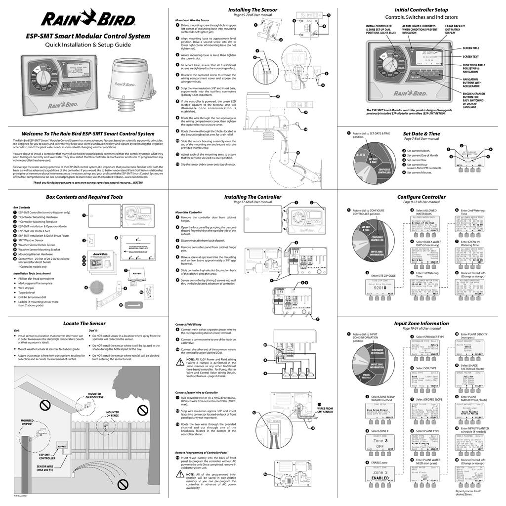 Rainbird ESP-SMT | manualzz com