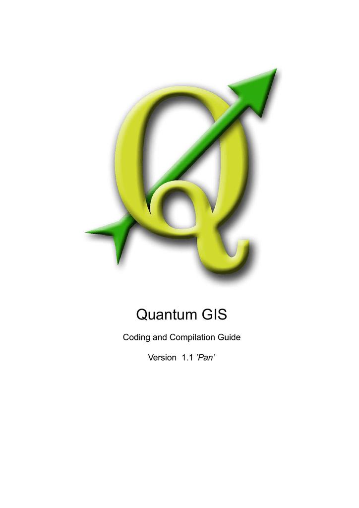 QGIS Coding and Compilation Guide | manualzz com