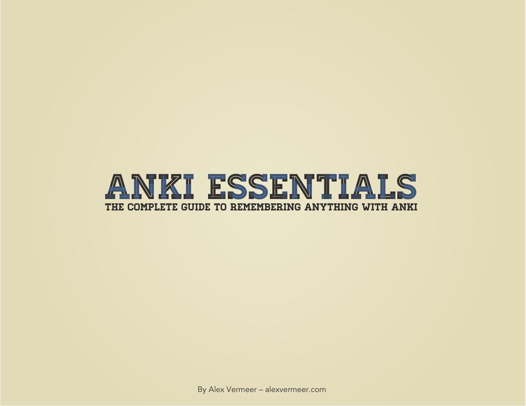 Click here to Anki Essentials | manualzz com