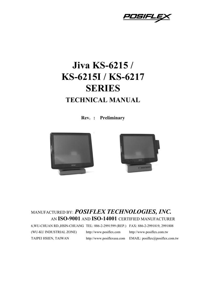 Jiva KS-6215 / KS-6215I / KS-6217 SERIES | manualzz com