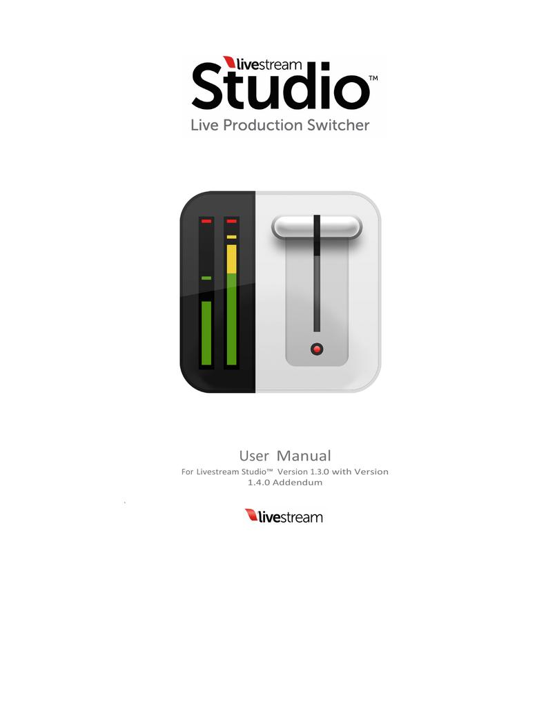 Studio Manual 1 3 Final Manualzz