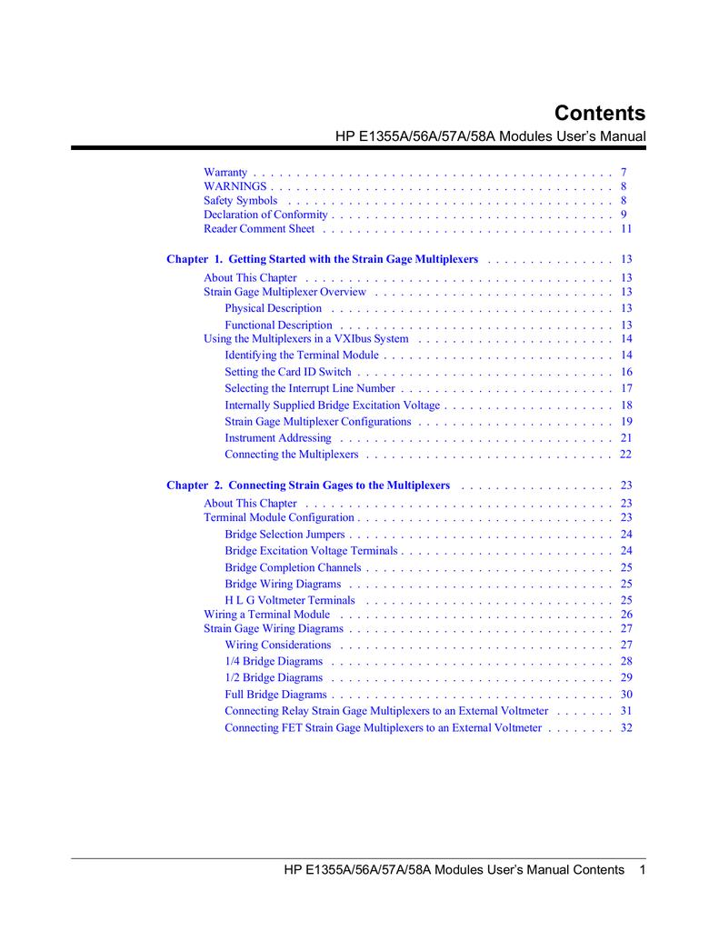 Strain Gage Chevron Wiring Diagram Multiplexer Overview 791x1024
