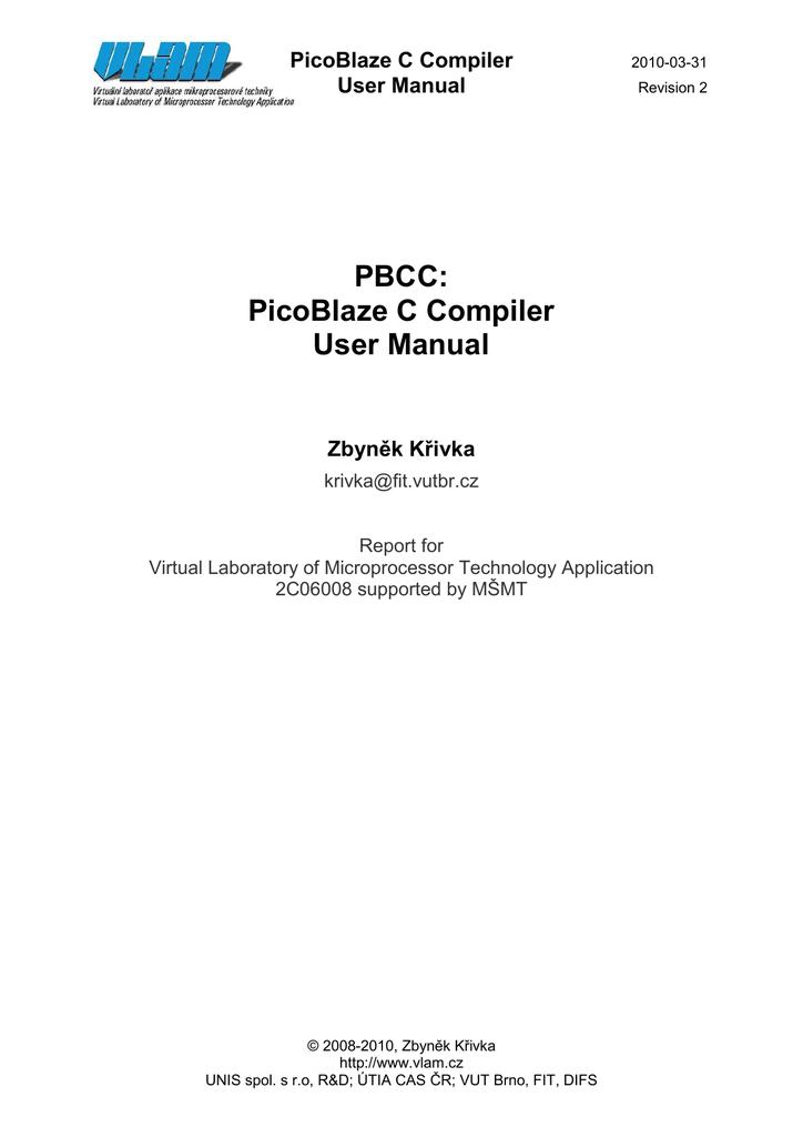 Picoblaze Pdf Download