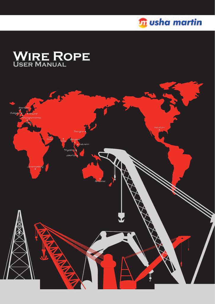 Wire Rope - Ushapedia - Manualzz