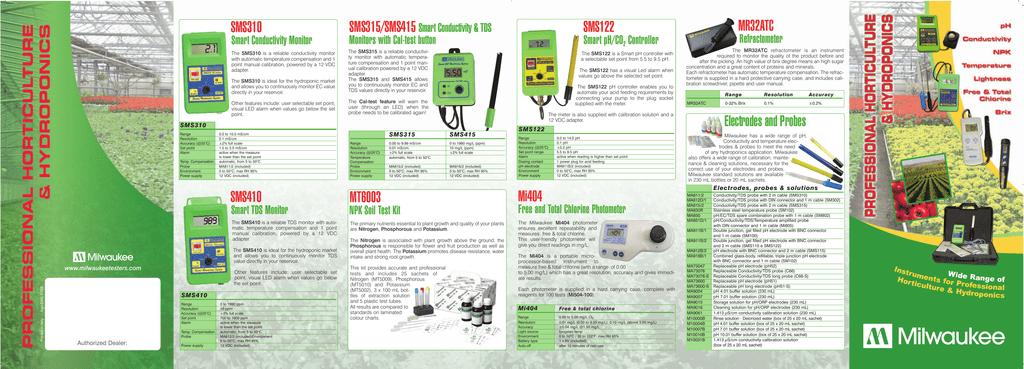 Milwaukee T75 Waterproof TDS Meter Low Range ppm Water Tester