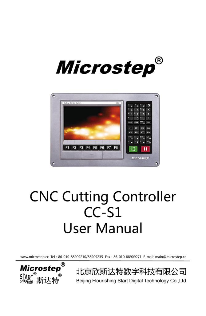 CNC Cutting Controller CC | manualzz com