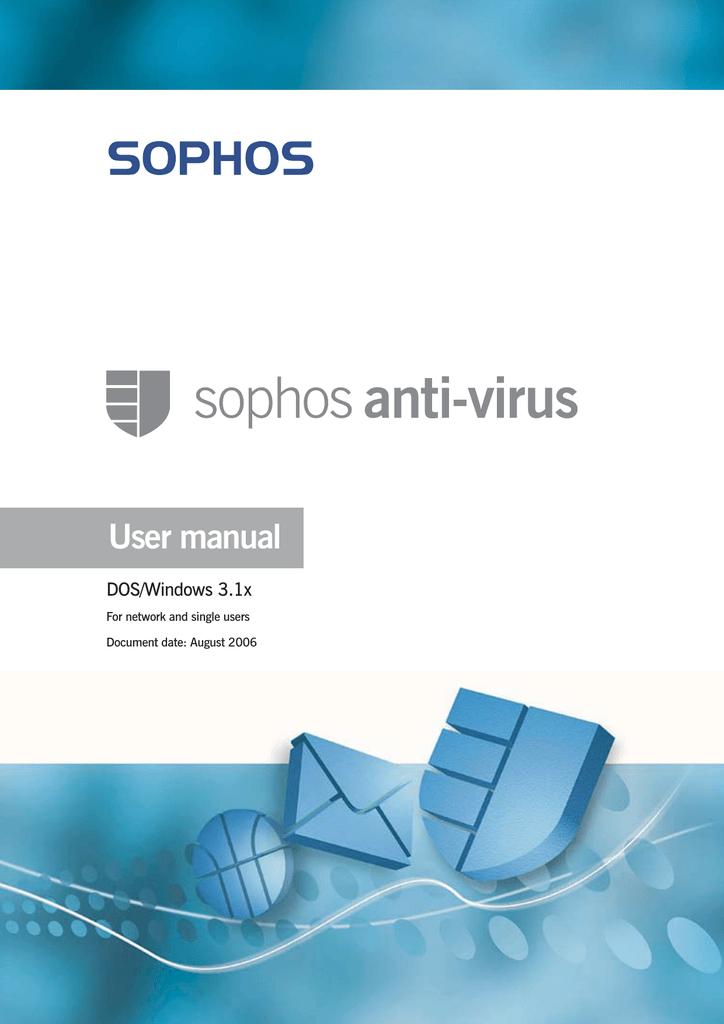 Sophos Anti-Virus DOS/Windows 3 1x user manual   manualzz com