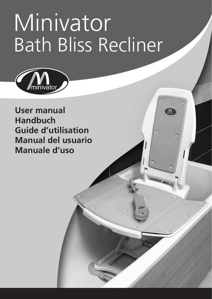 Installing your Minivator Bath Lift   manualzz.com