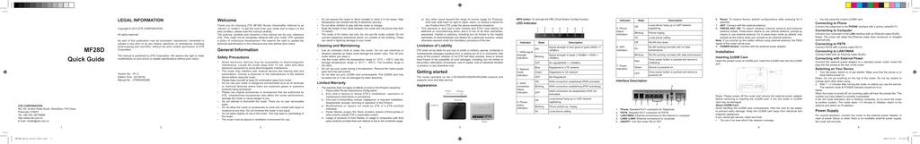 ZTE MF28D user manual - 4G   manualzz com