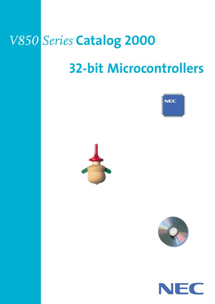 V850 Series Catalog 2000 32-bit Microcontrollers | manualzz com