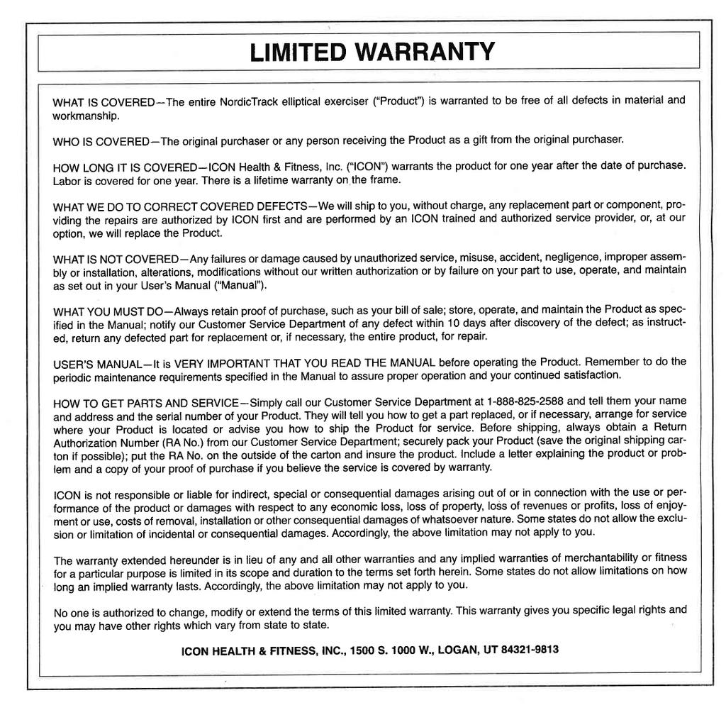 limited warranty manualzz com rh manualzz com