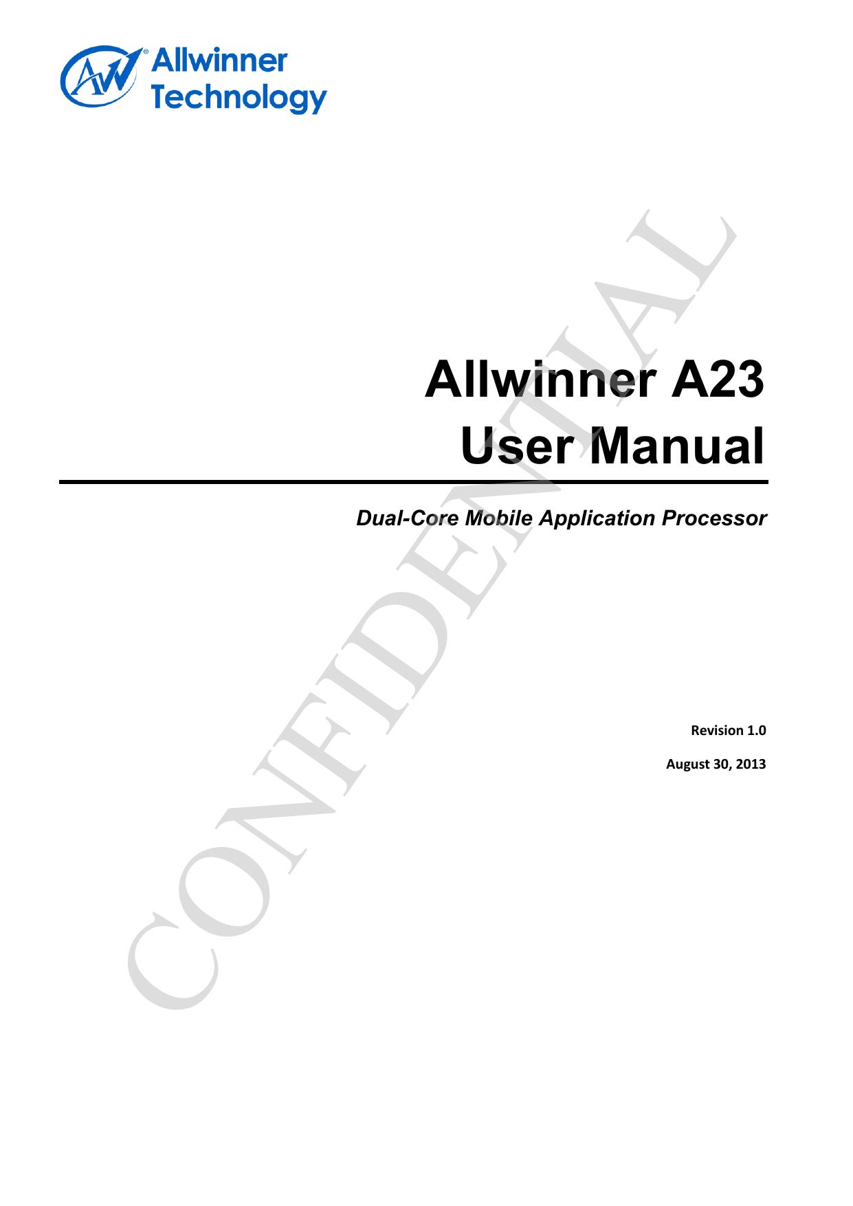 A23 User Manual V1 0 20130830 - linux | manualzz com