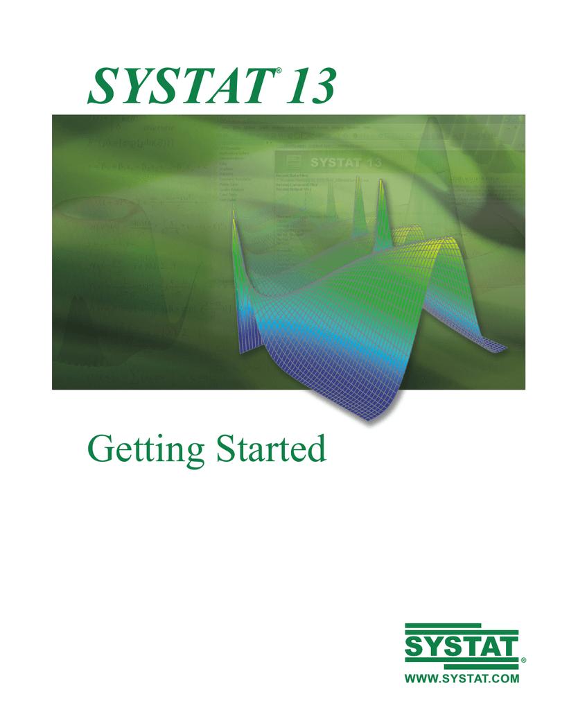 Getting Started Manual - Applied Biostatistics II | manualzz com