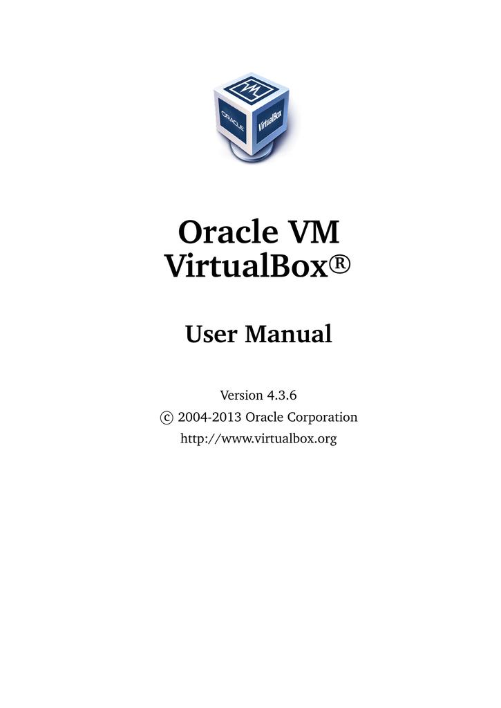 Oracle VM VirtualBox User Manual   manualzz com