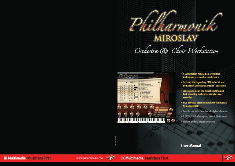 Miroslav Philharmonik Manualzz