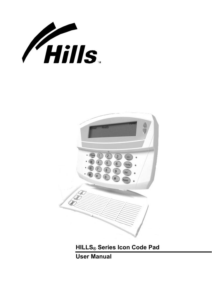 Icon Code Pad Manual