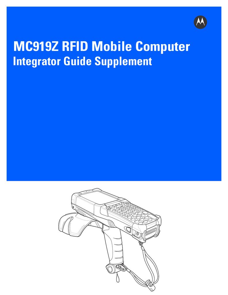 Motorola MC919Z Integrator Guide   manualzz com