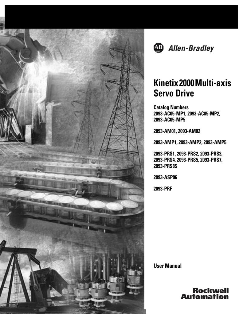 2093-UM001 - Rockwell Automation   manualzz com