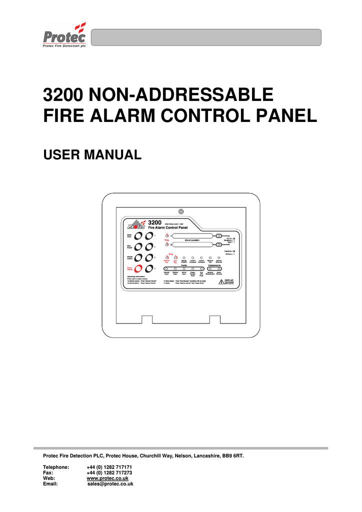 3200 user protec fire detection manualzz com rh manualzz com Manuals in PDF Manuals in PDF