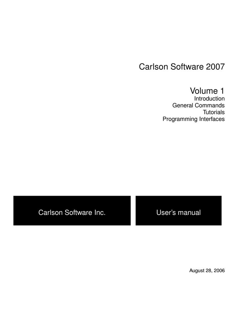 Carlson2007_Volume1_     manualzz com