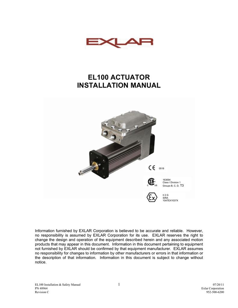 EL100 series Installation   User Manual  ebbed916d0c