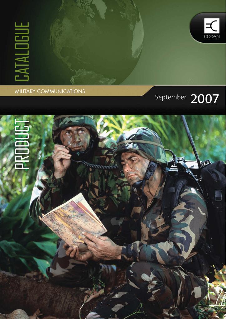 Codan Military Catalog   manualzz com