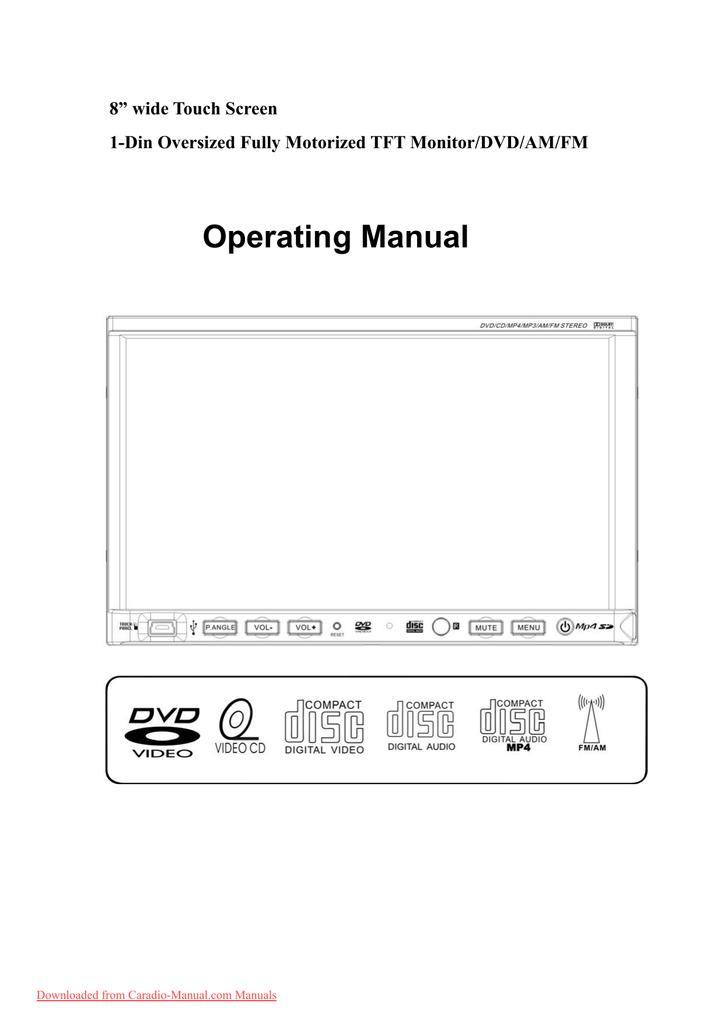 farenheit tid-801n user guide manual - caradio