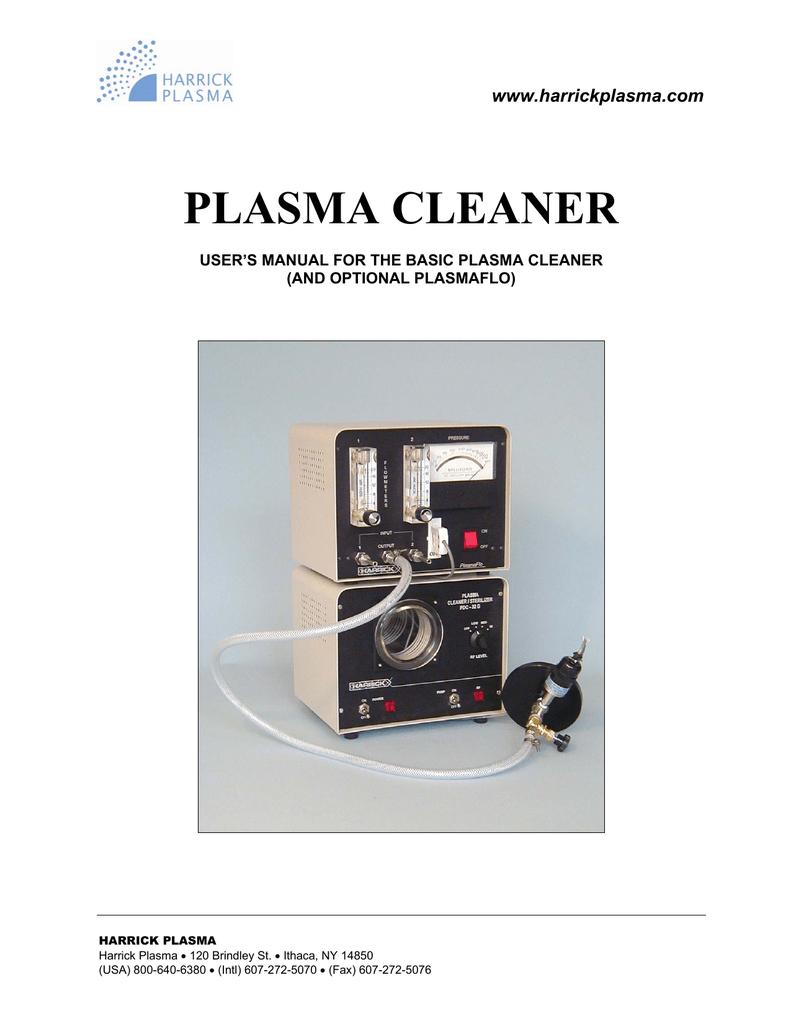 High power expanded plasma cleaner harrick plasma.