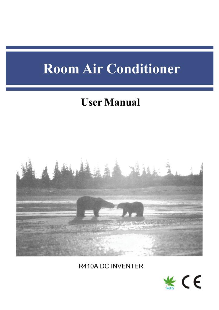 Room Air Conditioner   manualzz com