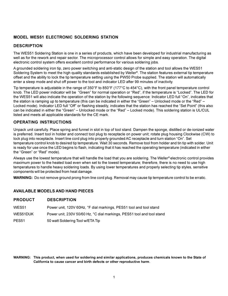 3 Tips/ETB ETO ETP/for WES-51 Station Weller ET-Series Soldering ...