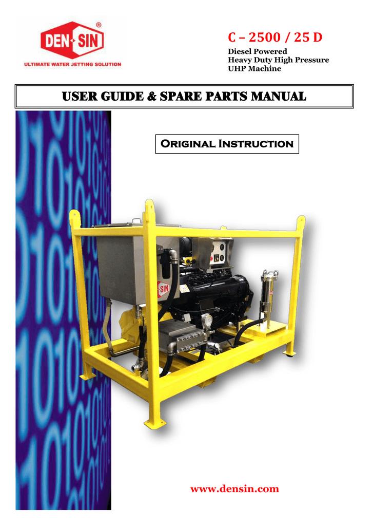 5  Spare parts list - DEN-SIN | manualzz com