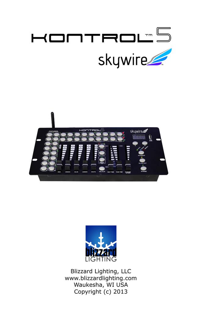 sc 1 st  manualzz.com & Product Manual kontrol-5-skywire-user-manual | manualzz.com