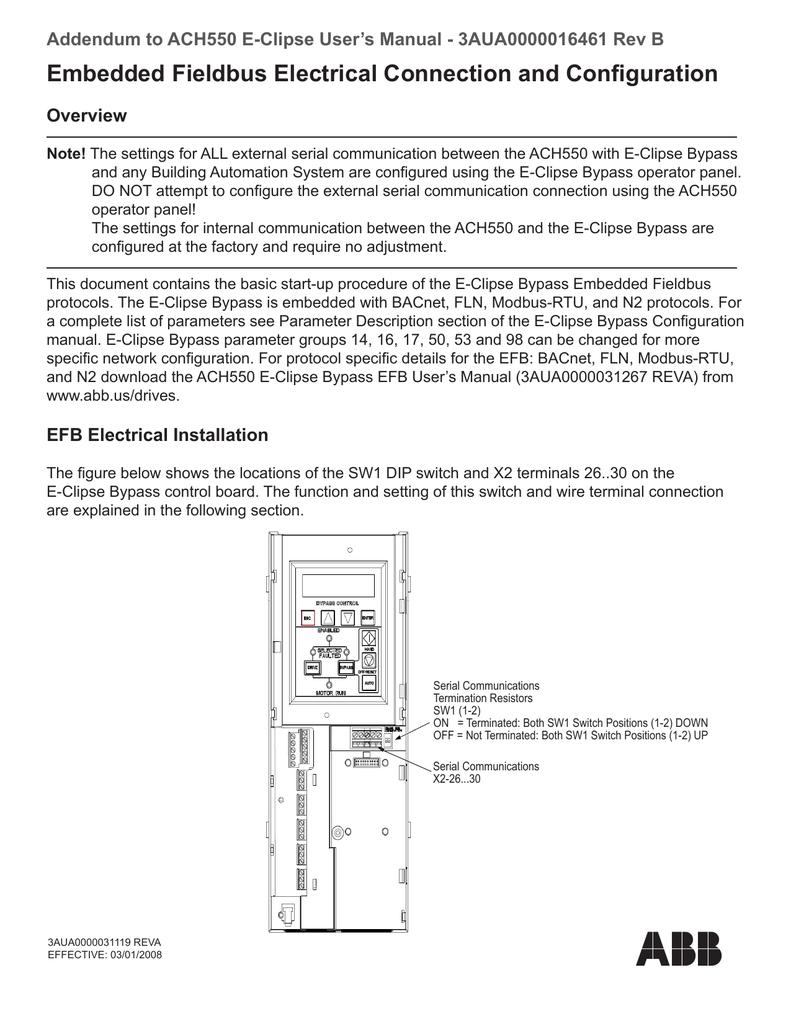 WRG-7159] Abb Ach550 Bacnet Wiring Diagram on